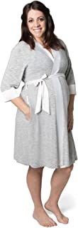 Kindred Bravely Emmaline Maternity & Nursing Robe Hospital Bag/Delivery Essential