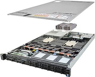 Enterprise DELL PowerEdge R630 Server 2X 2.40Ghz E5-2620v3 6C 192GB 8X 960GB SSD (Renewed)