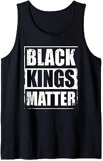 Black Kings Matter Black Lives Matter Gift For Men Tank Top