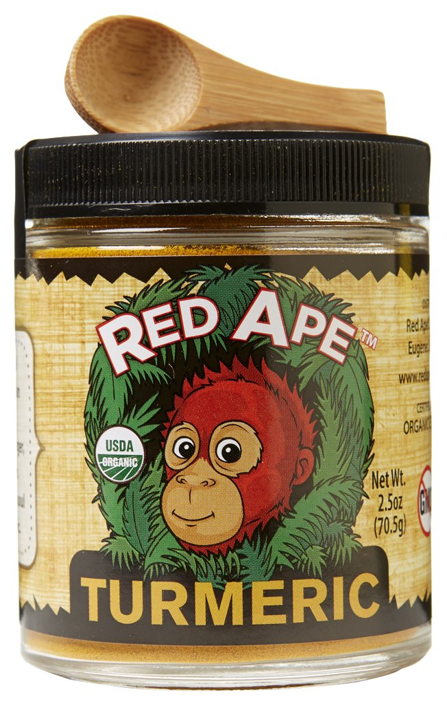 Red 2021new shipping free shipping Ape Organic Ground Turmeric Max 83% OFF 2.5 Oz