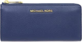 [マイケルコース] MICHAEL KORS 財布 (長財布) 35F8GTVZ3L ネイビー NAVY レザー L 長財布 レディース [アウトレット品] [ブランド] [並行輸入品]