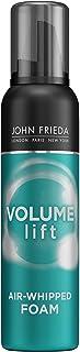 John Frieda Volume Lift Air Whipped Foam for Lightweight Fullness, 7.5 Ounces, Fine Hair Nourishing Mousse for Natural Vol...