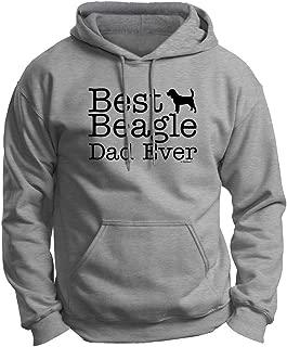 ThisWear Dog Lover Gift Best Beagle Dad Ever Premium Hoodie Sweatshirt