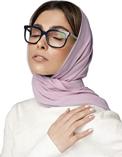 KNOTTED NEW YORK Premium Chiffon Scarf   Chiffon Hijab   Summer Scarf   Bridesmaid Scarf Wrap   Gift for Women