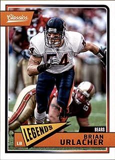 2018 Panini Classics #111 Brian Urlacher Bears Legend Football Card