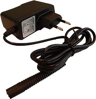 vhbw 220V voeding oplader (6V/0.6A) geschikt voor Braun MGK3040, MGK3060, MGK3080 (type 5514, 5515), Cruzer 6 BT5010, BT50...
