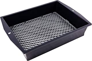 UPP 2-in-1 Garden Sifter | Adjustable Mesh Size Fine and Coarse | Dirt, Sand & Garden Soil Sifter | Get Rid of unwanted Lumps, Stones and Weeds