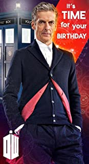 Dr Who New Doctor Who Birthday Card Peter Capaldi