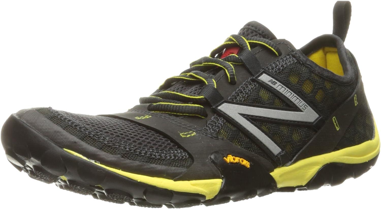 New Balance El Paso Mall Men's Minimus 10 V1 Trail Running Yellow Shoe Wholesale Grey