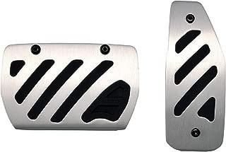 カーメイト 車用 ペダル RAZO アルミ&ラバーペダル コンパクト スズキ マツダ RP142