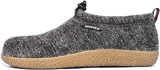 GIESSWEIN Vent Closed Felt Slippers, Warm Unisex Slipper