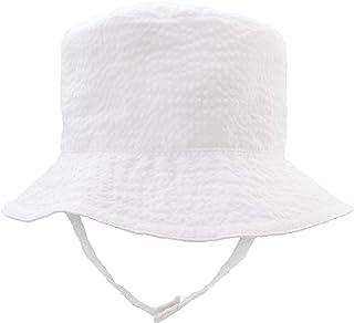 87efa37566e Huggalugs Baby   Toddler Boys Seersucker Bucket Sun Hat in Choice of Color  UPF ...