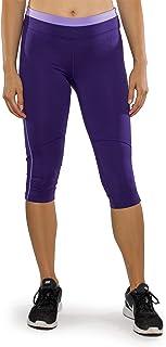 Alex + Abby Women's Plus Size Advantage Capri Legging 2X Blast Purple/Lilac