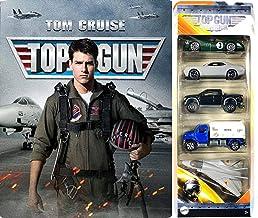 Top Jets & Cars Top Gun Steelbook + Maverick Top Gun Jet Wing Car Collection Blu Ray Tom Cruise Set double bundle
