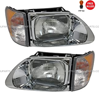 Headlight with CORNER LAMP - Driver & Passenger Side (Fit: International 9200 9400 5900)