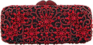 Fawziya Sun Flower Purse Women's Baguette Rhinestone Clutch Evening Bag
