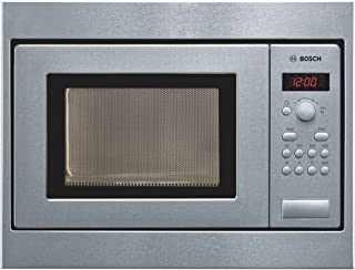 Bosch Serie | 2 50 cm 17 L Stainless Steel Built in Microwave HMT75M551I (Steel/Black)