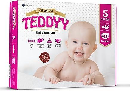 Teddyy Premium Baby Small Size Diaper (48 Count)