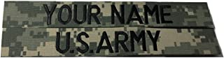2 pieces ACU Name Tape & US Army Tape, Sew-On (without Fastener)