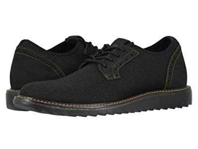Dockers Einstein Knit/Leather Smart Series Dress Casual Oxford with NeverWet (Bronze/Black Textile/Nubuck) Men