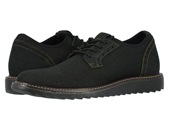Dockers  Einstein Knit/Leather Smart Series Dress Casual Oxford with NeverWet (Bronze/Black Textile/Nubuck) Mens Lace up casual Shoes
