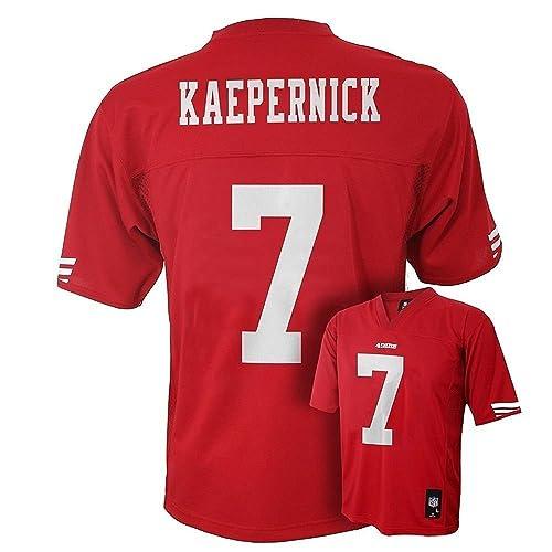 Colin Kaepernick San Francisco 49ers Red #7 Newborn Mid-Tier Jersey