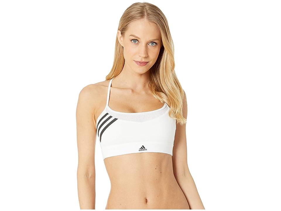 adidas Branded Novelty Sports Bra (White) Women