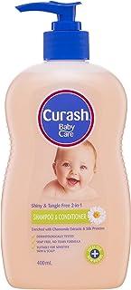 Curash Baby Shampoo & Conditioner 400ML