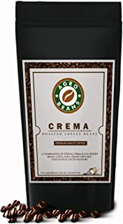 Crema Coffee Bean - Agro Beans ( Freshly Roasted Award Winning Coffee Beans) (Whole Beans, 1kg)