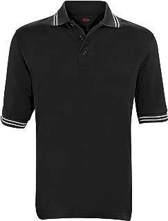 Adams USA Short Sleeve Baseball Umpire Shirt - Sized for Chest Protector