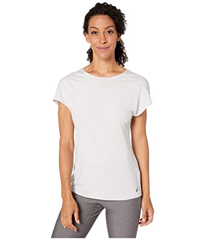 ASICS Short Sleeve Tee (Mid Grey Heather) Women