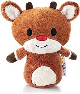 1 X Hallmark Christmas XKT1435 Rudolph The Red Nosed Reindeer Itty Bitty Plush