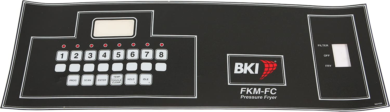 Bki N0406 Max 49% OFF Decal Control Panel Los Angeles Mall