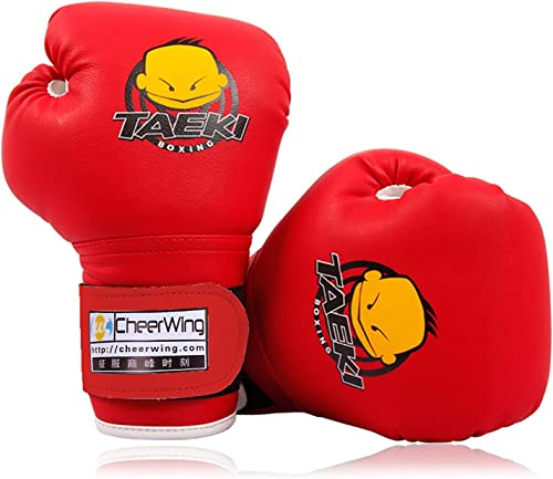 high quality Cheerwing Kids Boxing Gloves wholesale 4oz Training Gloves for Youth and Toddler Punching Mitts Kickboxing new arrival Muay Thai Gloves online
