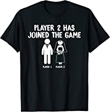 Player 2 Has Joined the Game Marriage Gamer T-Shirt