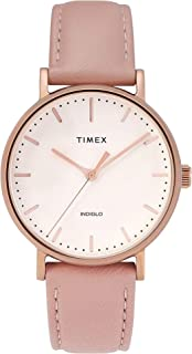 Timex Women's 37 mm Fairfield Leather Strap