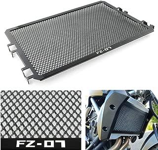 Xitomer Radiator Guard Aluminum, for Yamaha FZ-07 FZ 07 2013-2018, Radiator Grille Cover (FZ07 Logo)