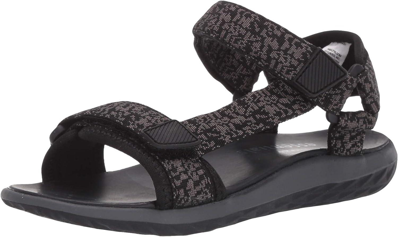 Amazon Essentials Boys' Easy-to-use Adjustable Sandal Medium 13 US Grey Bi Popular