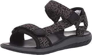 Amazon Essentials Boys' Adjustable Sandal, Grey, 13 Medium US Big Kid