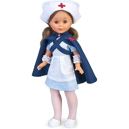 Nancy Colección-Enfermera Reedición 20 Muñeca, Multicolor (Famosa 700016211)