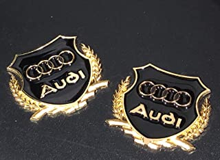 Best gold audi badge Reviews
