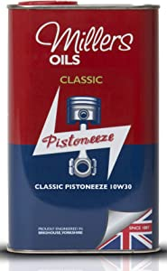 Millers Oil Classic Pistoneeze 10w30 Mineral Engine Oil  Litres