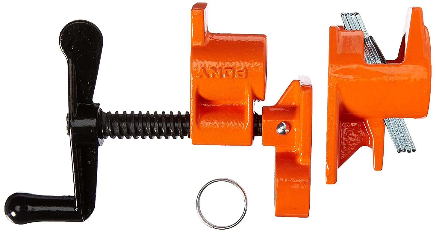 PONY 50 Pipe Clamp, Fixture for 3/4-Inch Black Pipe