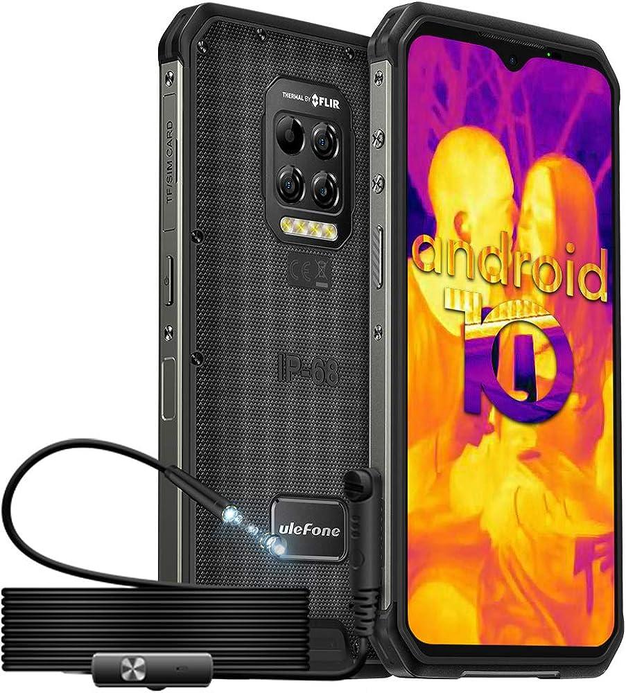 Ulefone rugged smartphone armor 9 in offerta termocamera flir ed endoscopio 128gb rom 8gb ram 51094WQB