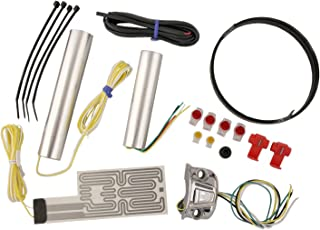 Heat Demon 211055 Chrome Left Mount Motorcycle Grip Heater Kit