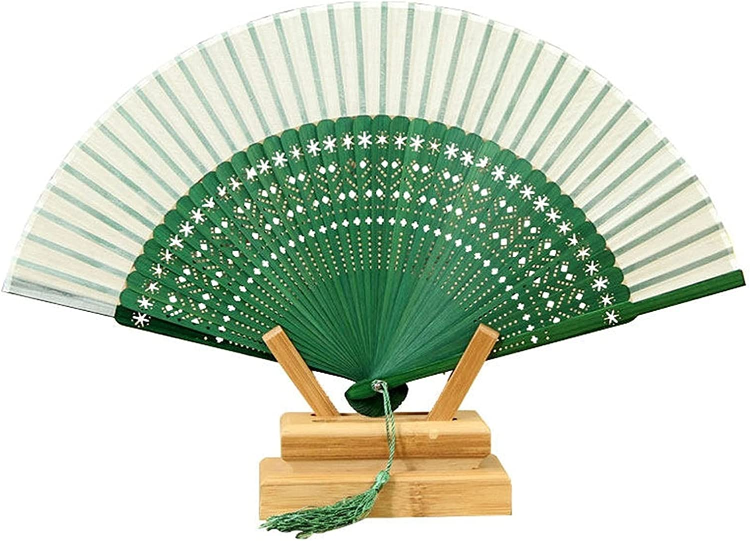 YUXINYAN New Orleans Mall Hand Fans Fan Folding Ca Retro Style Hollow sale Chinese