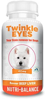 Twinkle Eyes Tear Stain Remover for Dogs - Beef Liver 40g