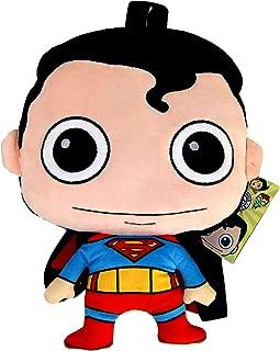 Superman Plush Backpack,DC Comics Official Licensed,36cm (14.1
