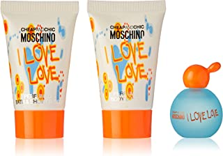 Moschino I Love Love Cheap and Chic for Women, 3 Pc Mini Set