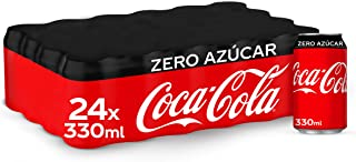 Coca-Cola Zero Azúcar Lata - 330 ml (Pack de 24